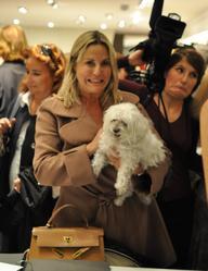 Quelle est a race du chien de Sophie Favier, présentatrice de l'Euromillion ?