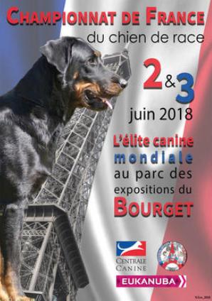 championnat de france du chien de race 2018