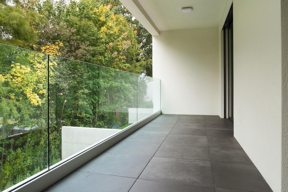 plexiglas terrasse