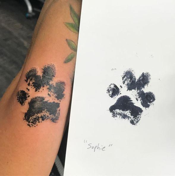 Häufig Et si vous vous faisiez tatouer l'empreinte de votre chien  CE07