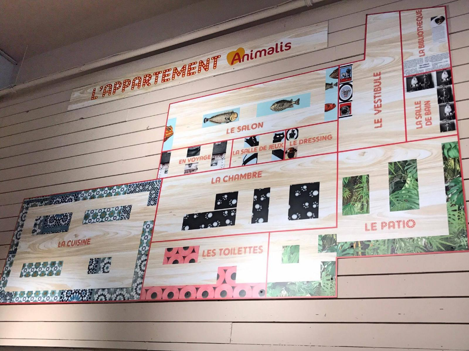plan de l'appartement animalis bercy