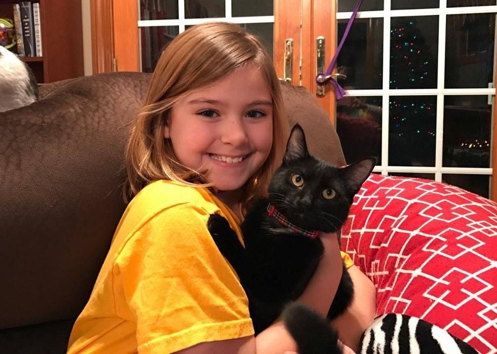Ella la chatte noire et Marley