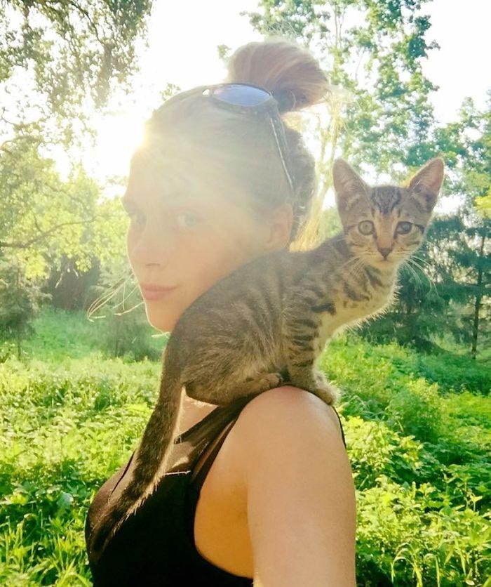 etudiante sauve 350 chats