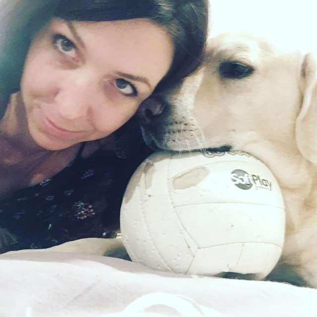 chien ballon gueule